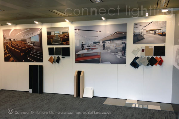 Exhibition Stand Lighting Uk : Connect walls exhibition lighting mobile temporary