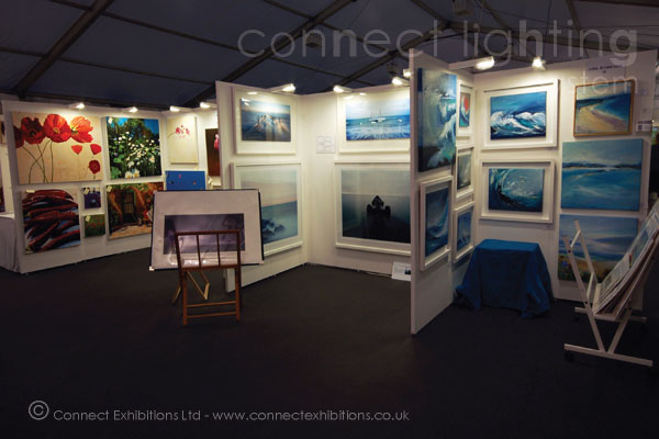 Corner Exhibition Stands : Connect walls exhibition lighting mobile temporary