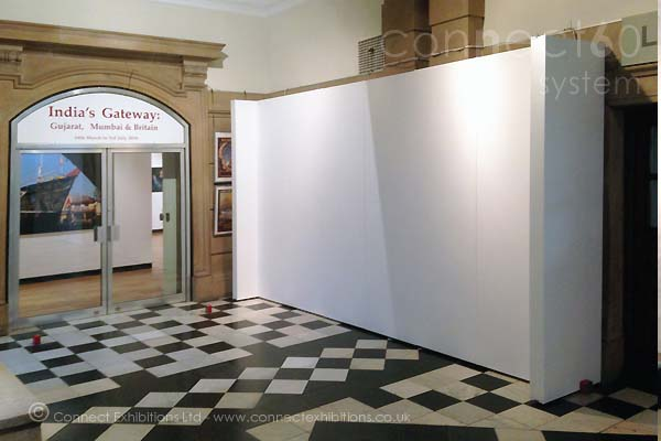 Exhibition Stand Wall Panels : Connect walls exhibition boards board