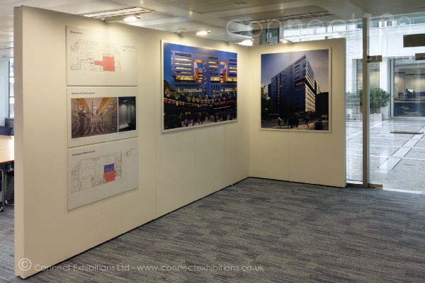 Exhibition Stand Wall Panels : Connect walls exhibition panels mobile temporary